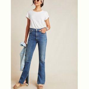 NWT CoT Georgia ultra high rise flare jeans